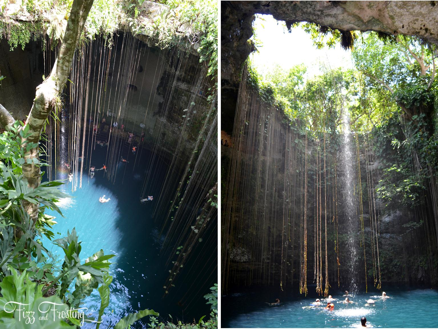 cenote near chichen itza - must-see sites near Riviera Maya, Cancun and Tulum. Click through to see about the other sites you won't want to miss! | www.bylaurenm.com