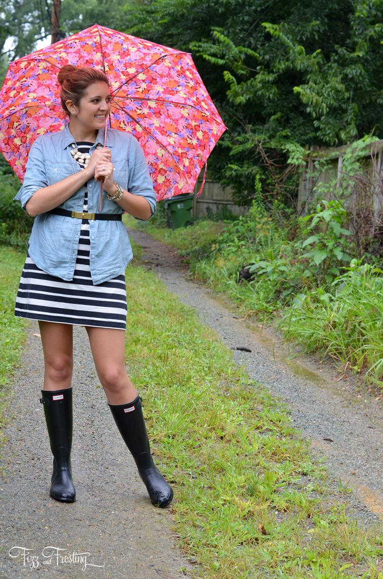 Wear to what rainy day summer