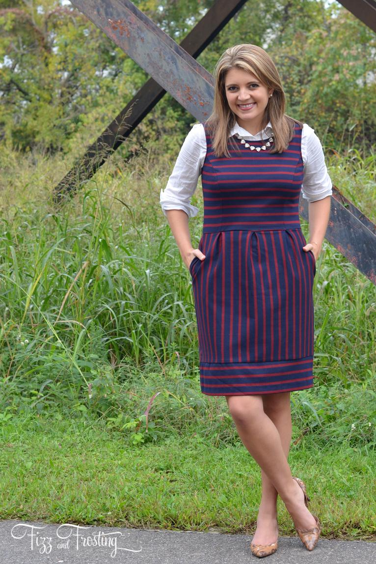 How To Layer A Dress For Fall By Lauren M