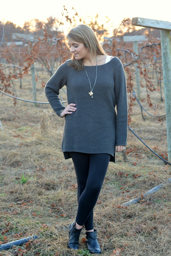Oversized Sweater & Leggings | By Lauren M