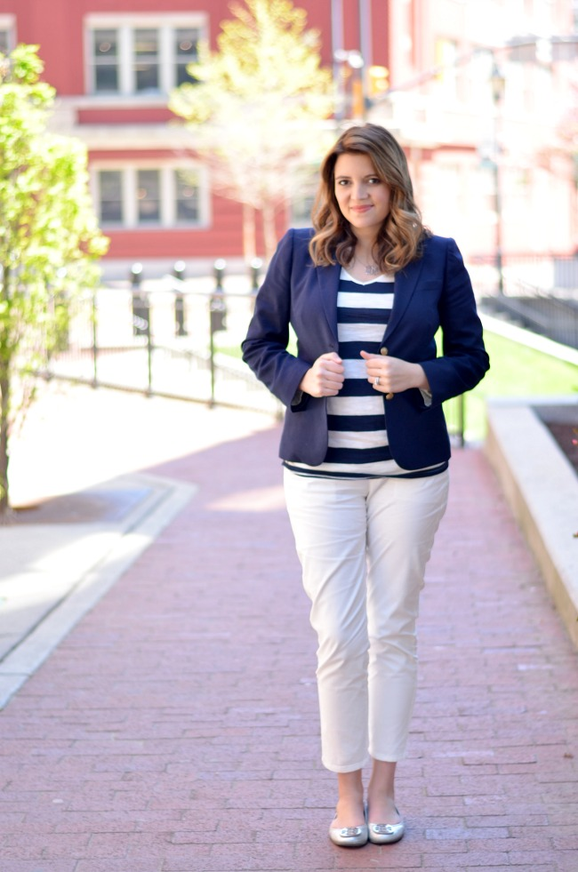 Nautical Office Style By Lauren M