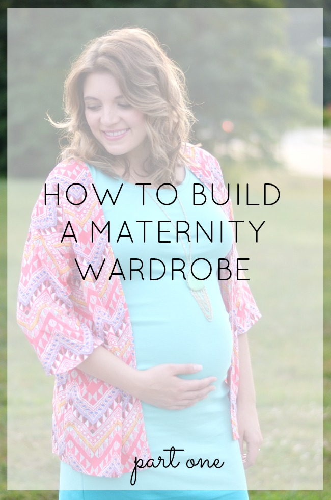 How to build a maternity wardrobe: must-read tips for mixing maternity pieces with your current clothes! | bylaurenm.com