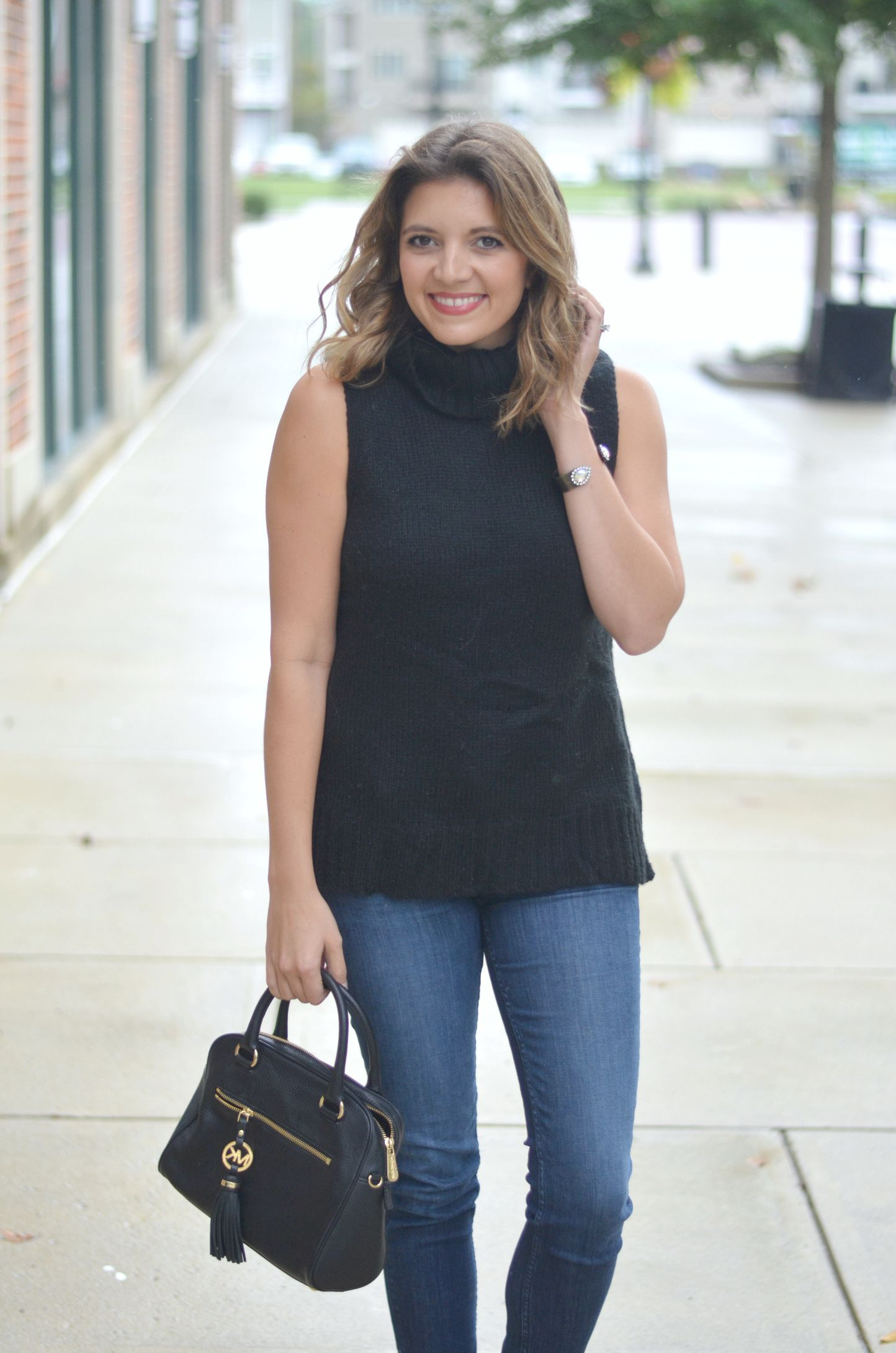 Sleeveless Turtleneck Sweater | By Lauren M