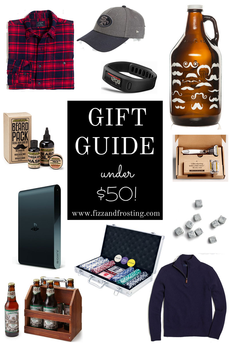 Gift Guide for Him Under $50 | By Lauren M