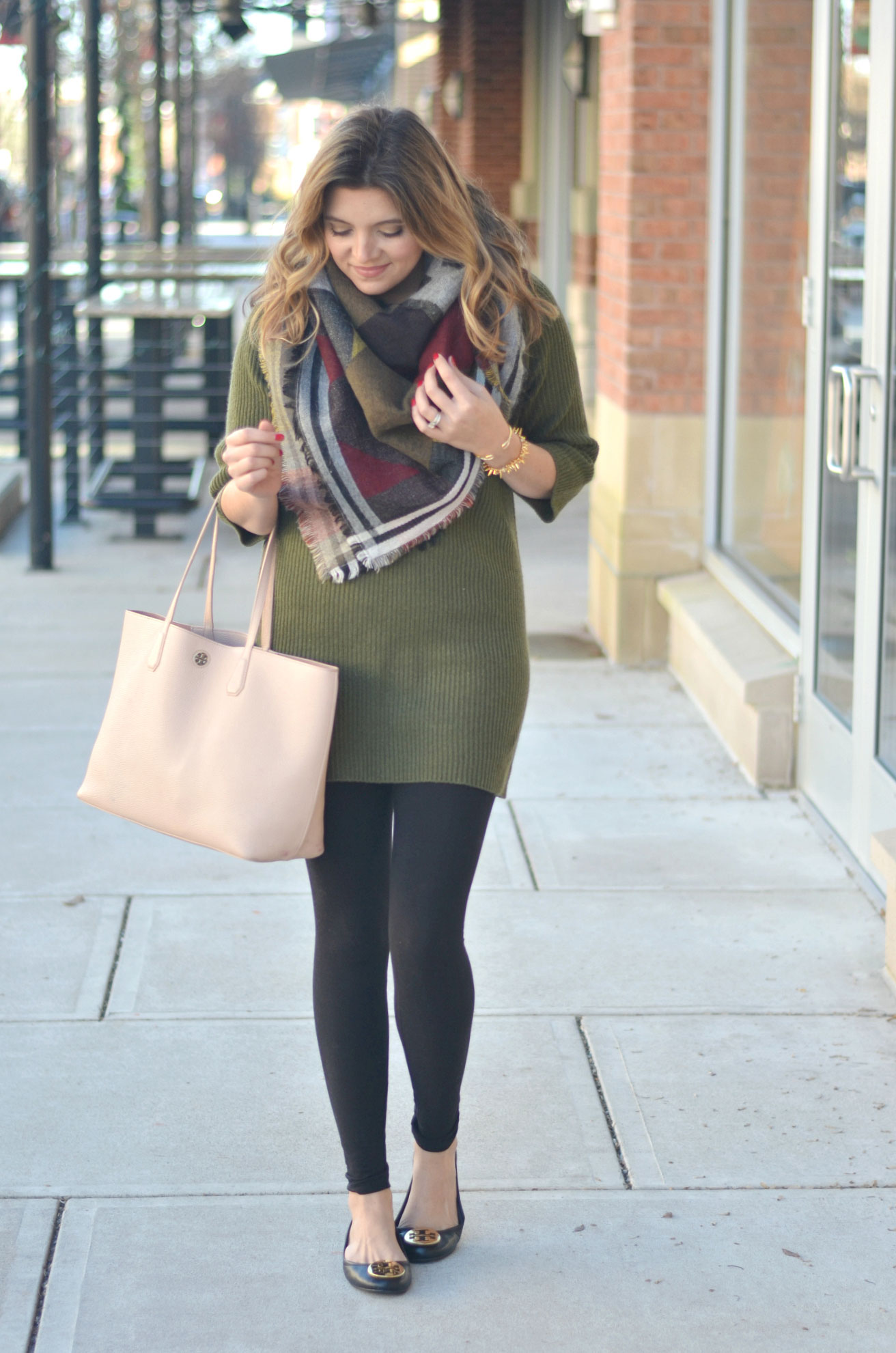 Sweater Tunic and Leggings | By Lauren M