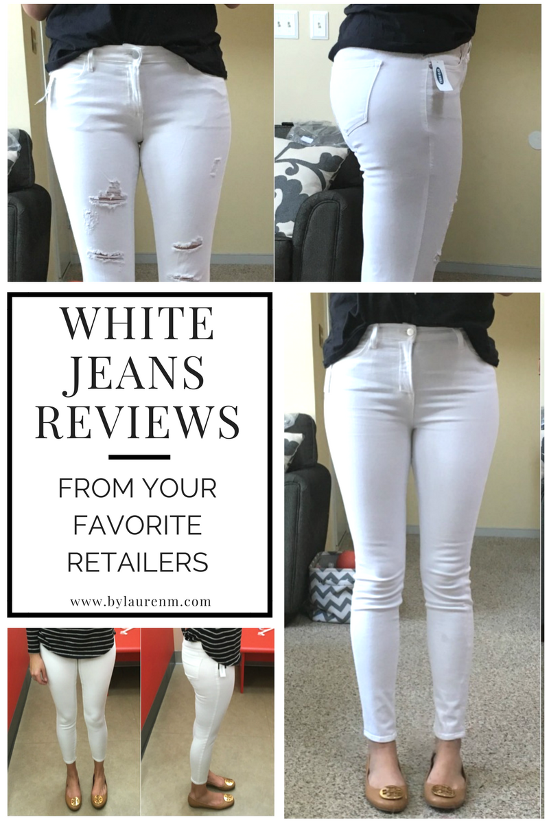 best white jeans - white jeans reviews | www.bylaurenm.com