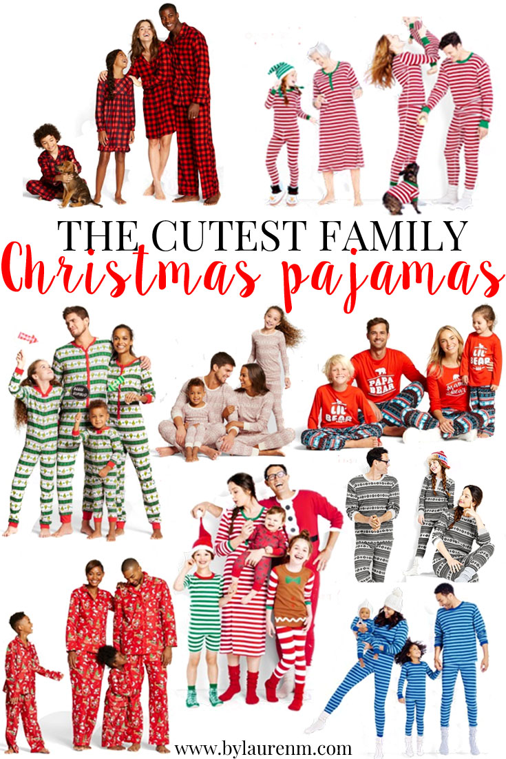 family christmas pajamas best matching christmas pajamas wwwbylaurenmcom - Matching Christmas Pajamas For Family