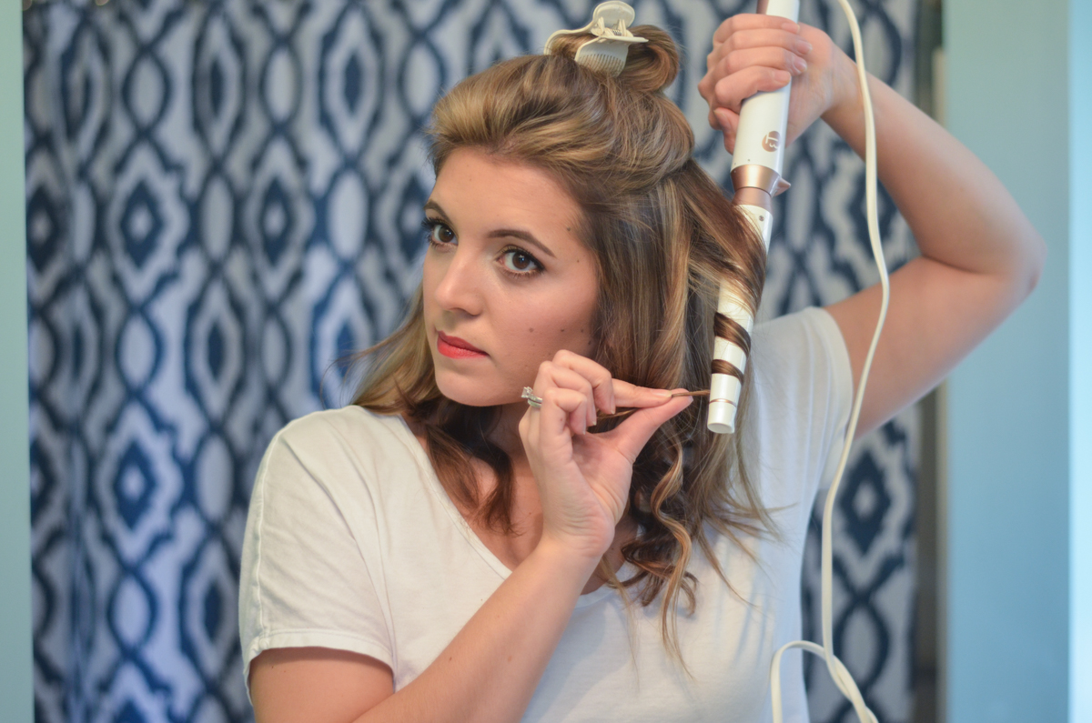 T3 wand tutorial - how to get beachy waves | www.bylaurenm.com