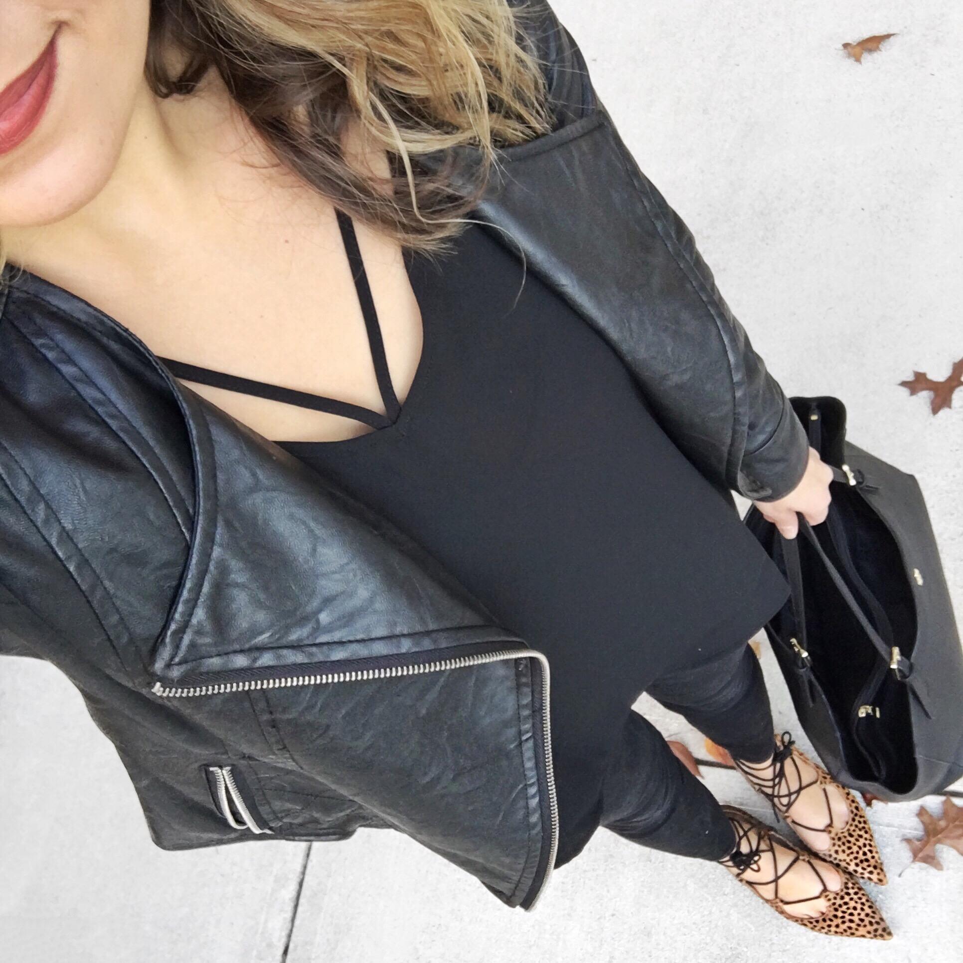 all black outfit - bylaurenm instagram | bylaurenm.com