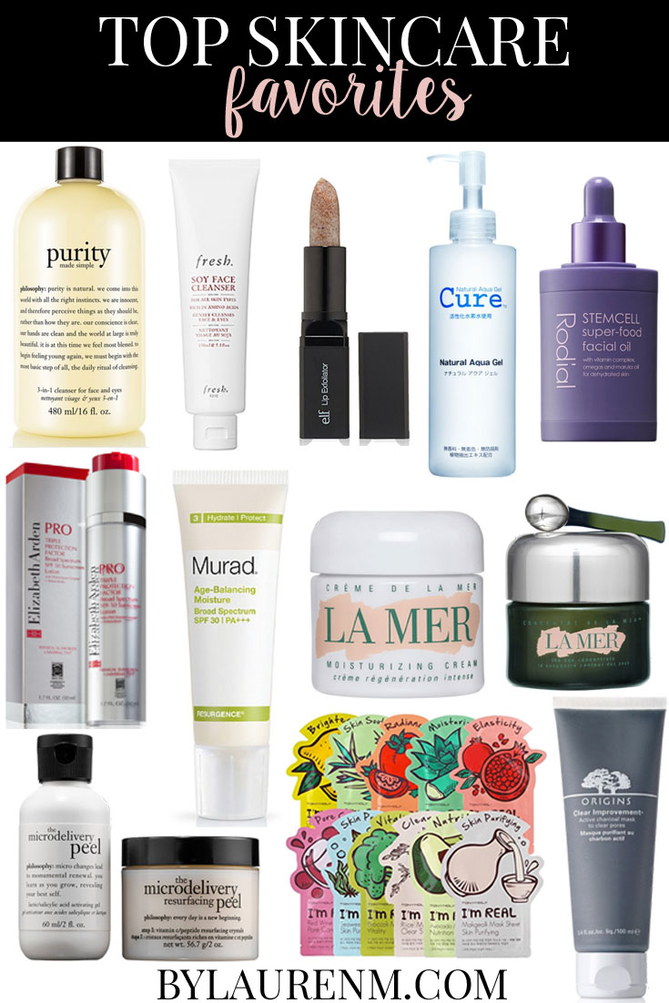 top skincare products - top skincare favorites: click through to read all about my favorite skincare products and why I love them! | www.bylaurenm.com