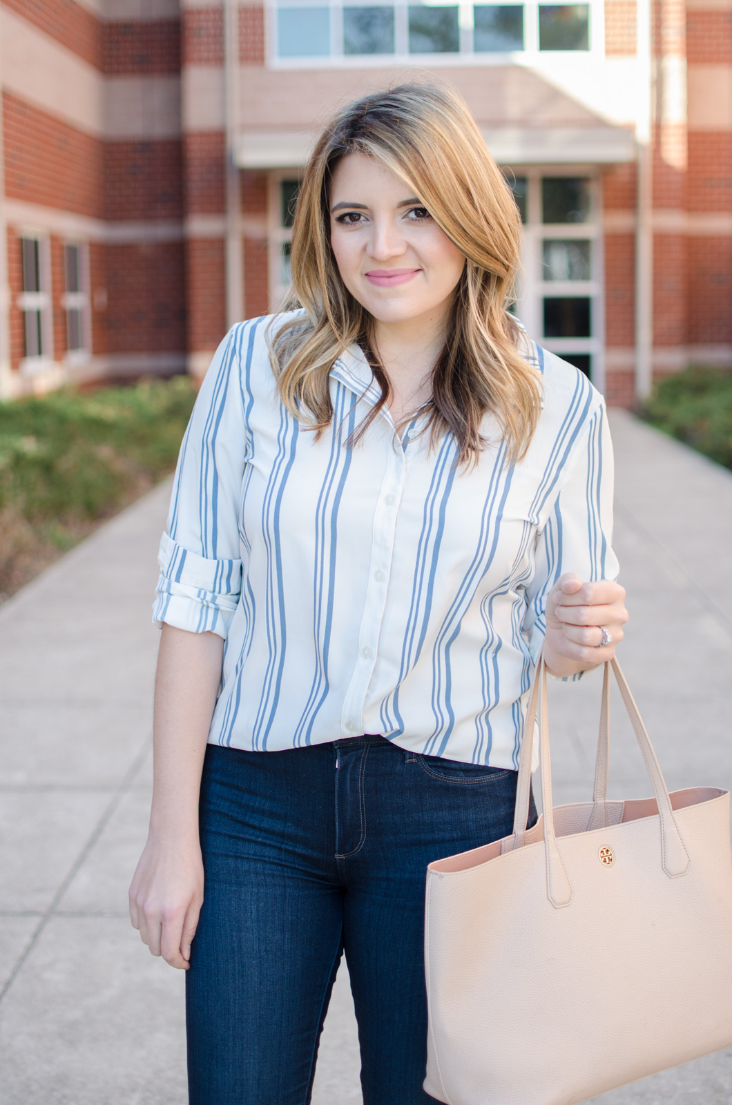 work to weekend outfit - click through to see two other outfit ideas for Spring! www.bylaurenm.com