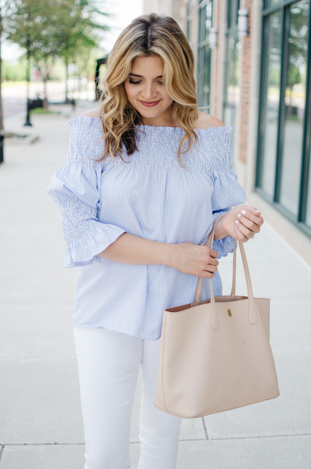 spring outfit - cute spring style | Want more Spring outfit inspiration? Head to bylaurenm.com!