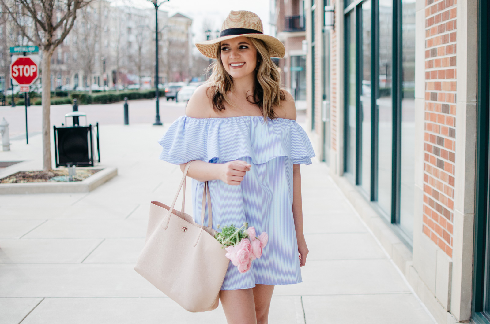 preppy outfit - girly spring outfit | Click through for more cute spring outfits or to shop this look! bylaurenm.com