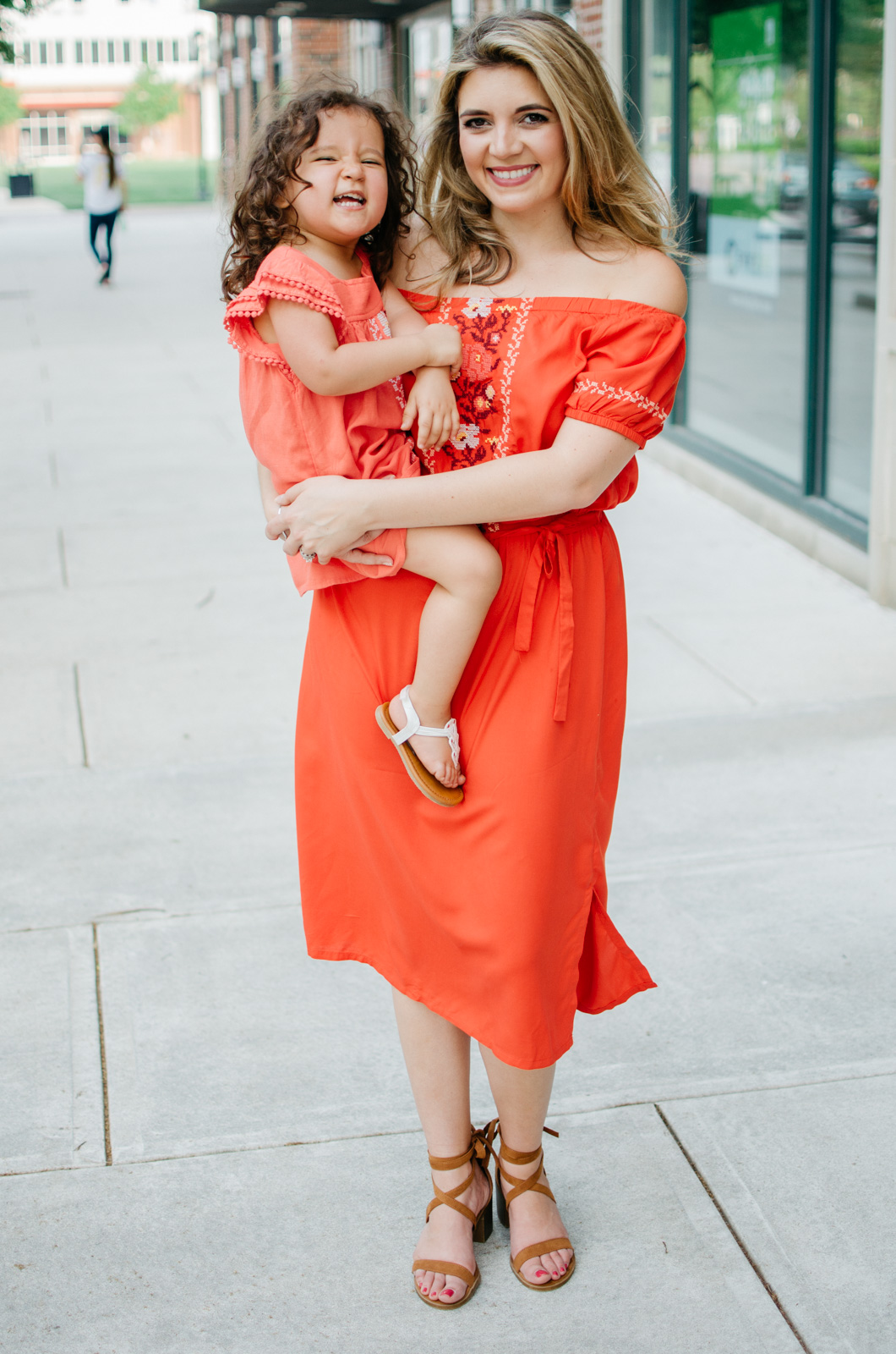 matching mother daughter outfits spring | bylaurenm.com