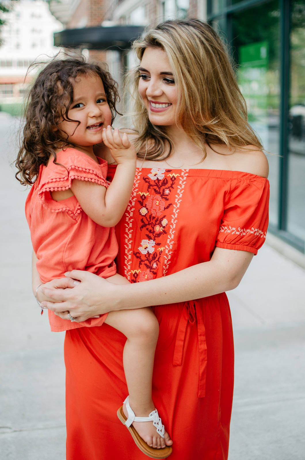 mom daughter matching outfits - spring mother daughter outfits | bylaurenm.com