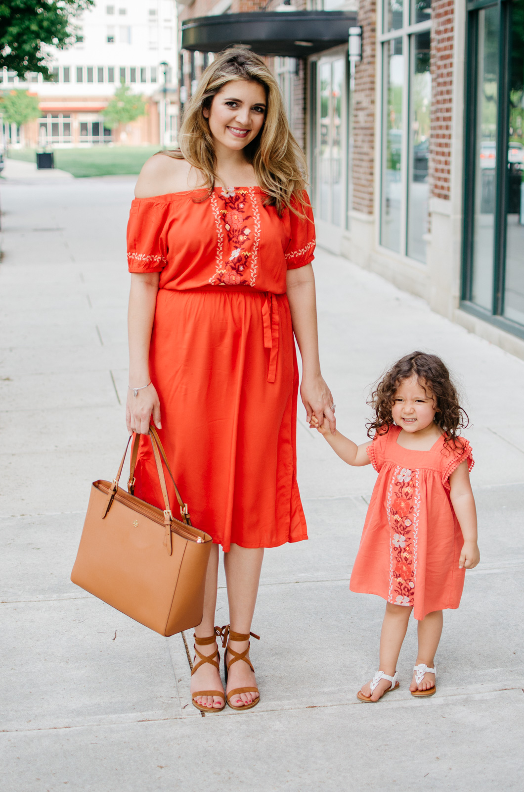 mommy daughter matching outfits - mother's day outfits | bylaurenm.com