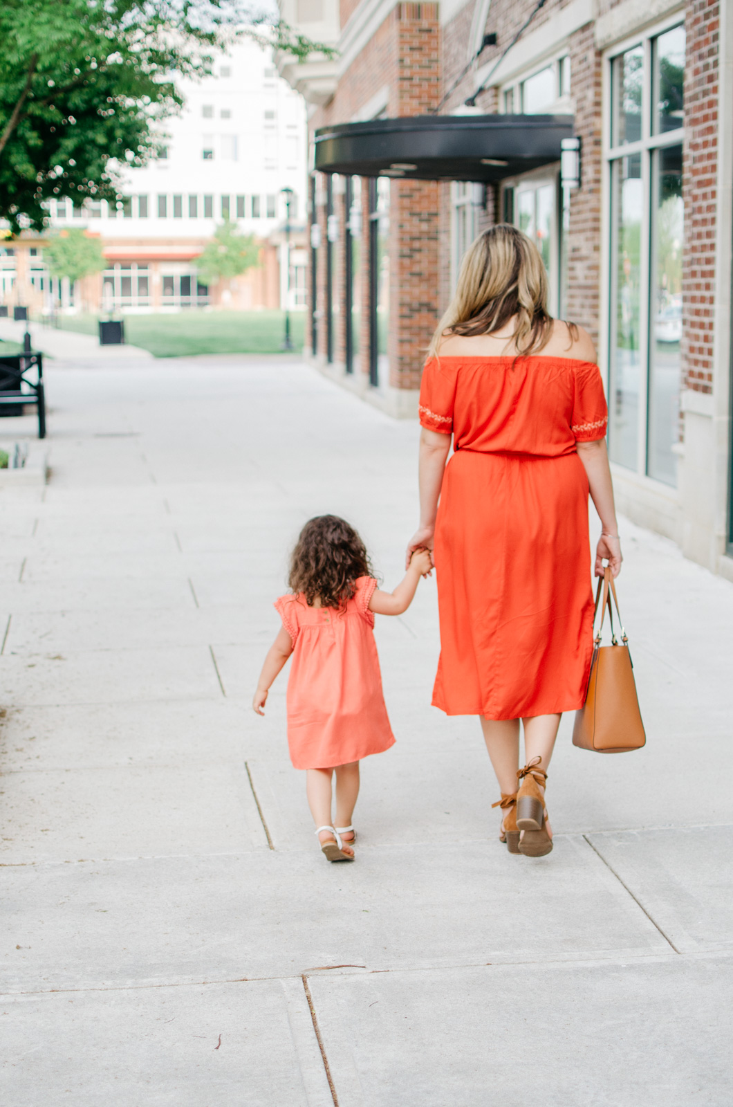 spring outfit ideas - mother daughter matching outfit | bylaurenm.com