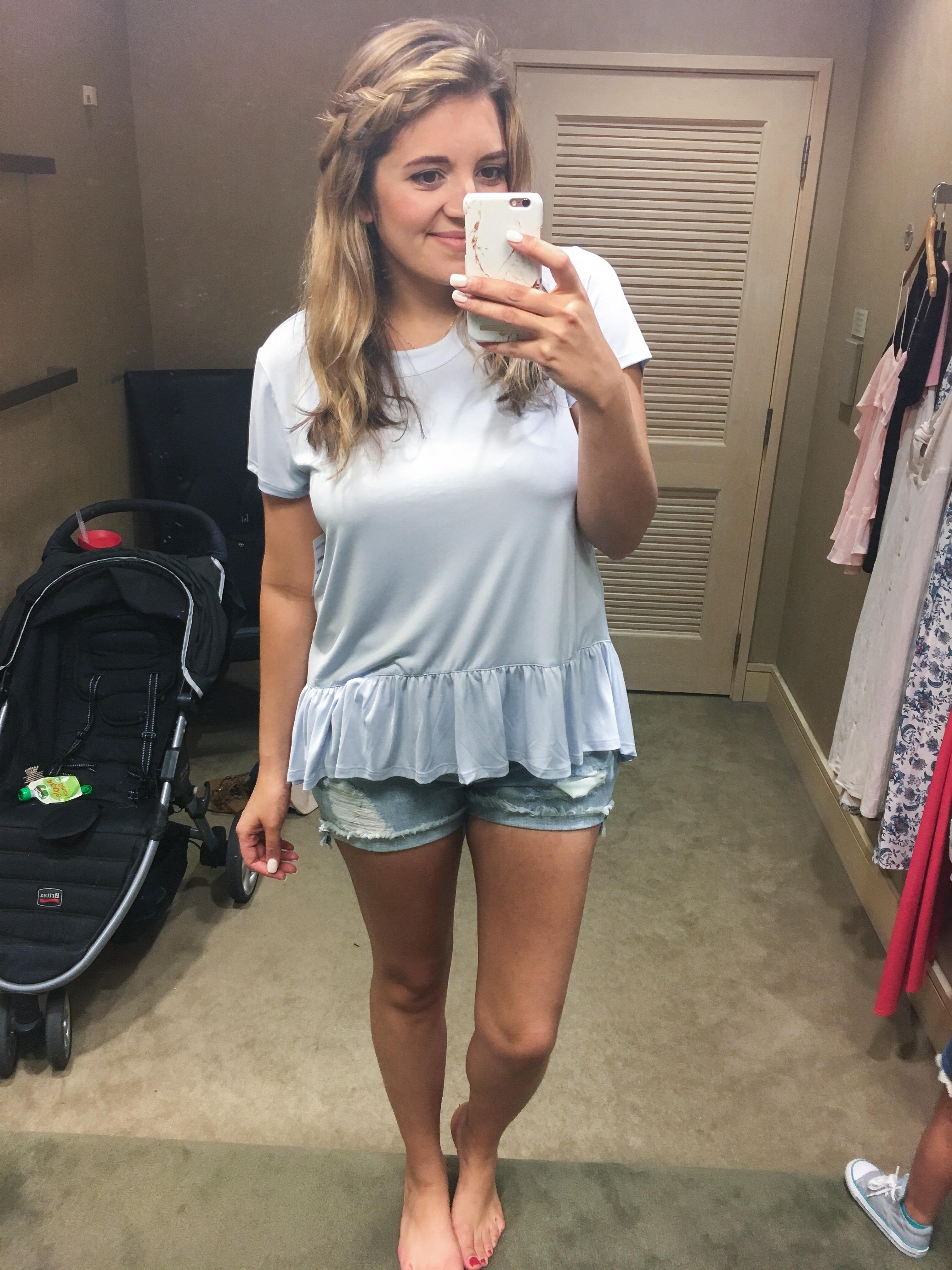 dressing room try on session - best Nordstrom Summer finds | bylaurenm.com