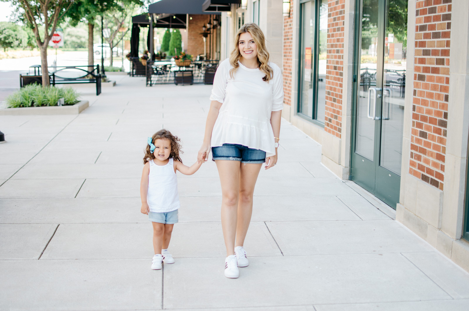 e6575c4c5c6 mommy daughter summer outfits - adidas sneakers summer outfits | For more  mother-daughter outfit