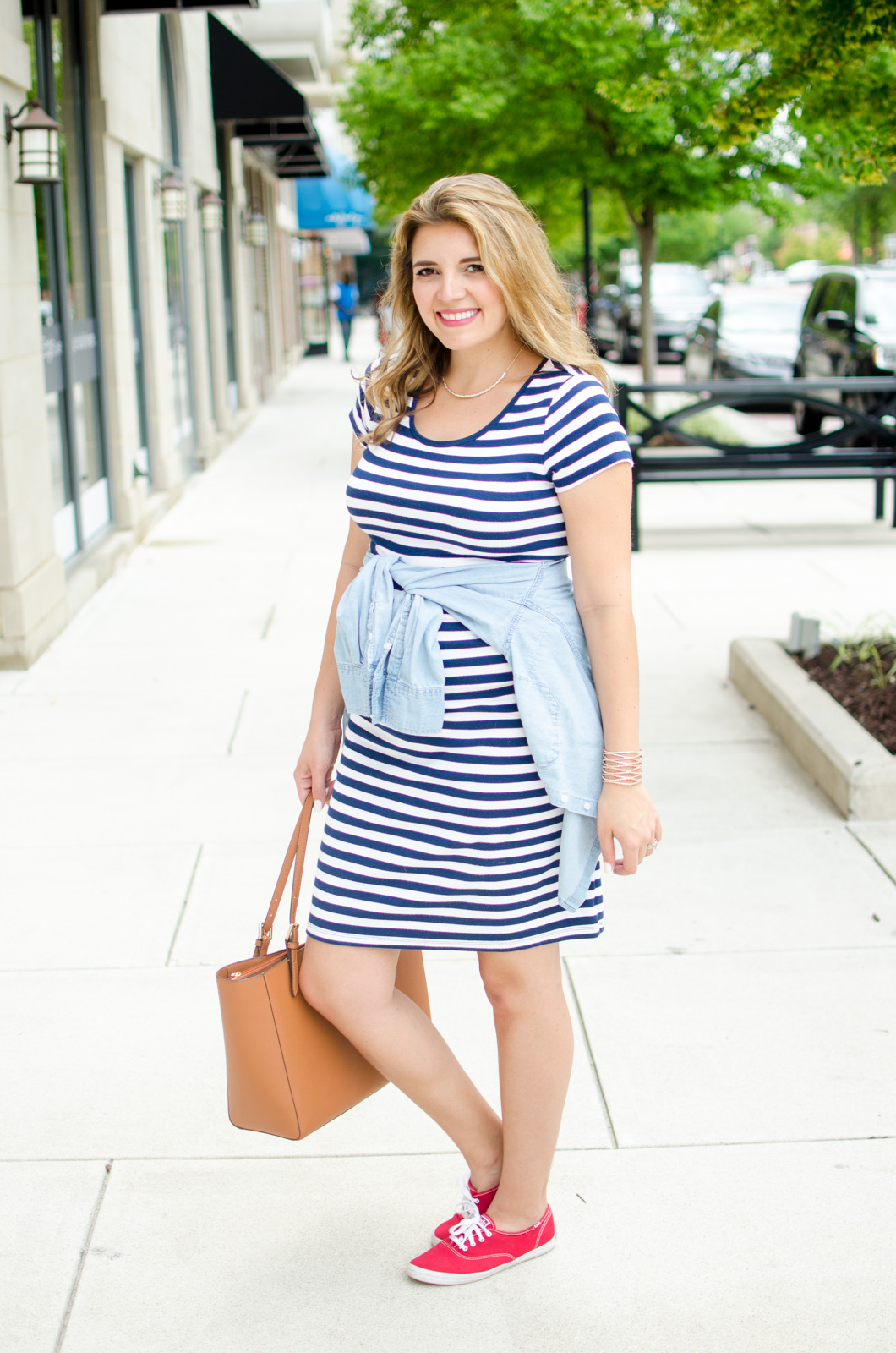 what to wear 4th of july pregnant - 4th of july maternity outfit | For more cute summer pregnancy outfits, head to bylaurenm.com
