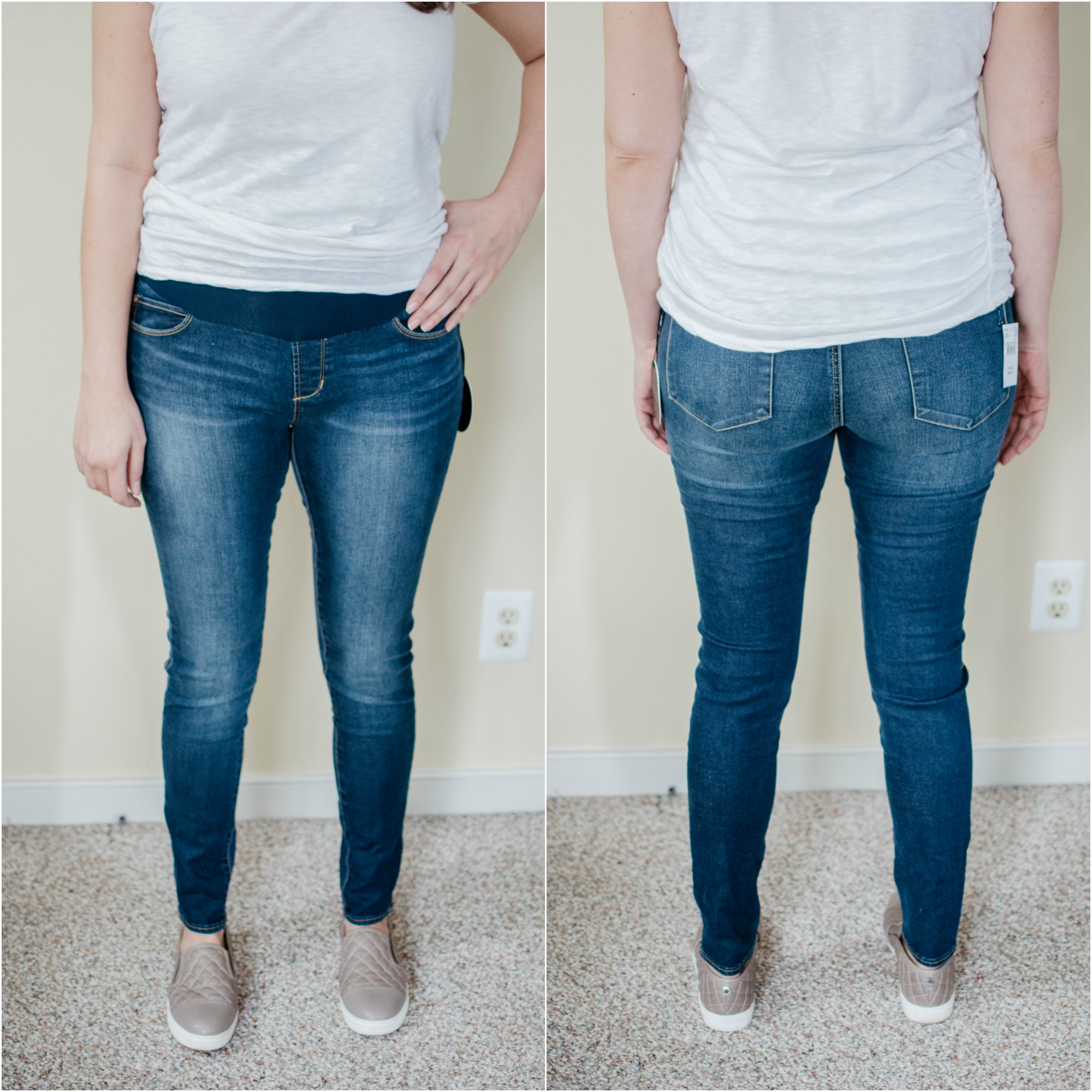 Articles of Society maternity jeans - best designer maternity jeans review | See reviews of over 15 maternity jeans brands by clicking through to this post! | bylaurenm.com