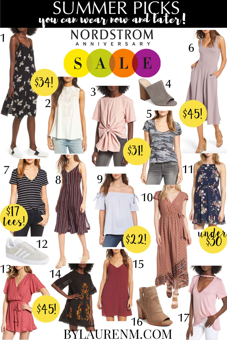 Nordstrom anniversary sale 2017 summer picks - the best #nsale items that you can wear now! | bylauren.com