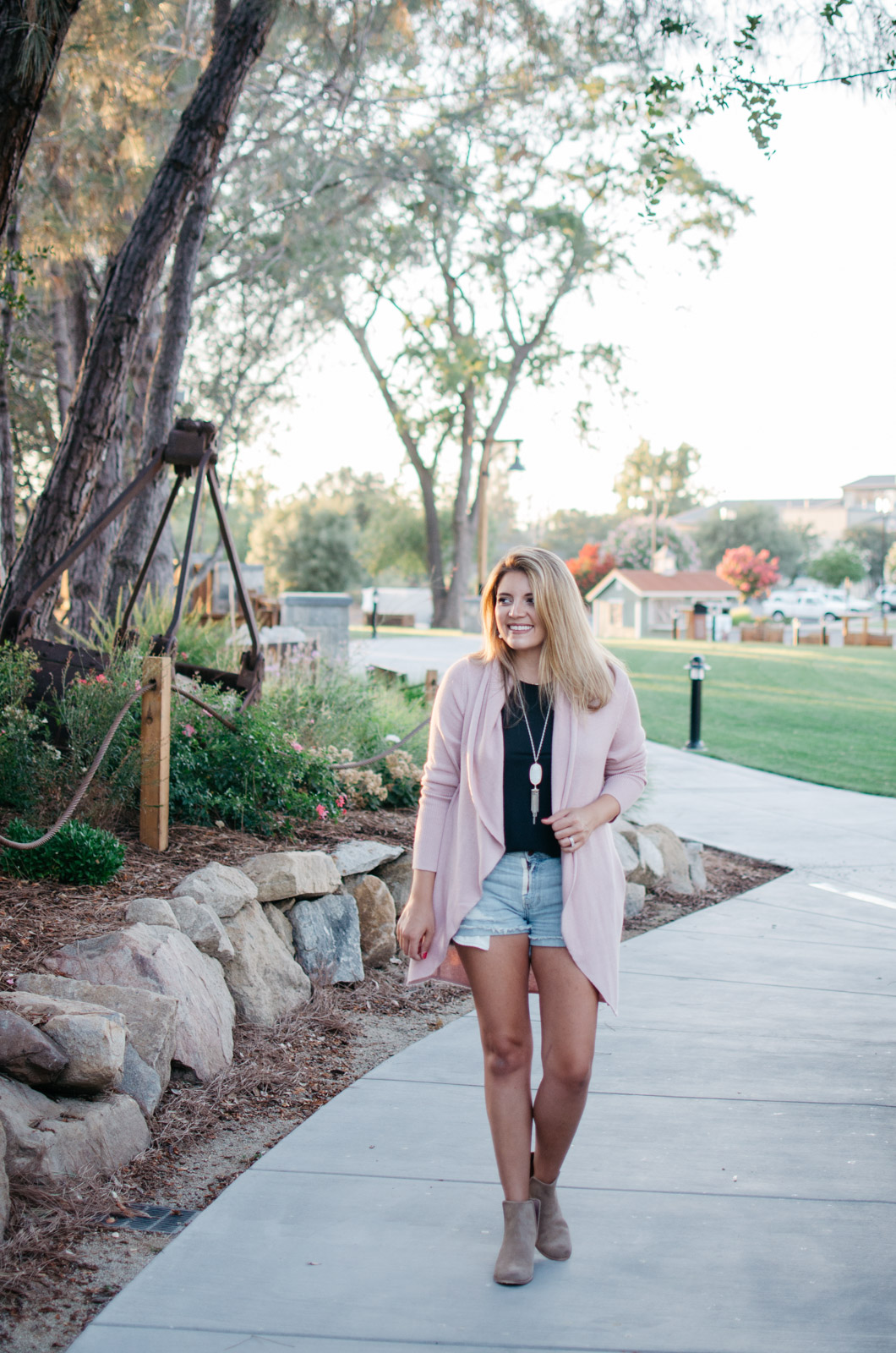 nordstrom anniversary sale outfit - how to wear a cardigan for summer | bylaurenm.com