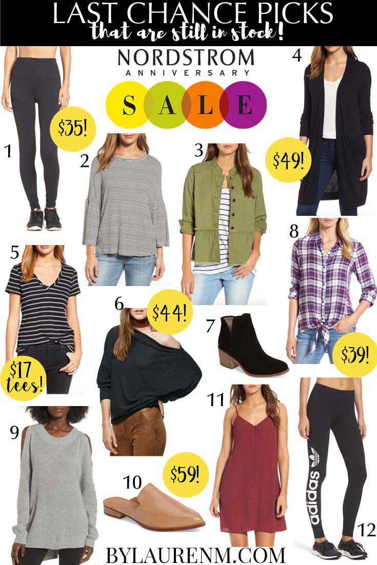 Nordstrom Anniversary Sale in stock last chance finds | bylaurenm.com