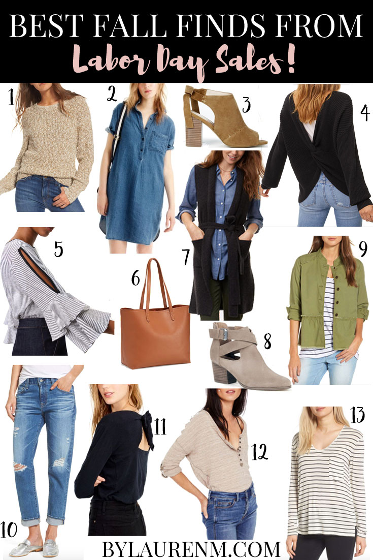 best labor day sales - see my top fall picks from retailers like nordstrom, loft, j.crew and more! bylaurenm.com