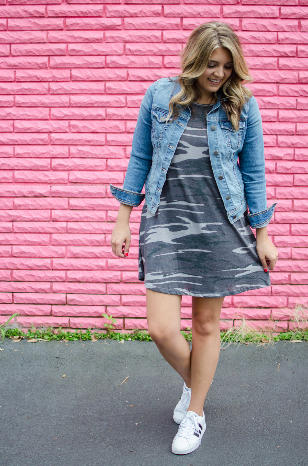 how wear camo - camo dress | For more cute Fall outfits, go to bylaurenm.com!