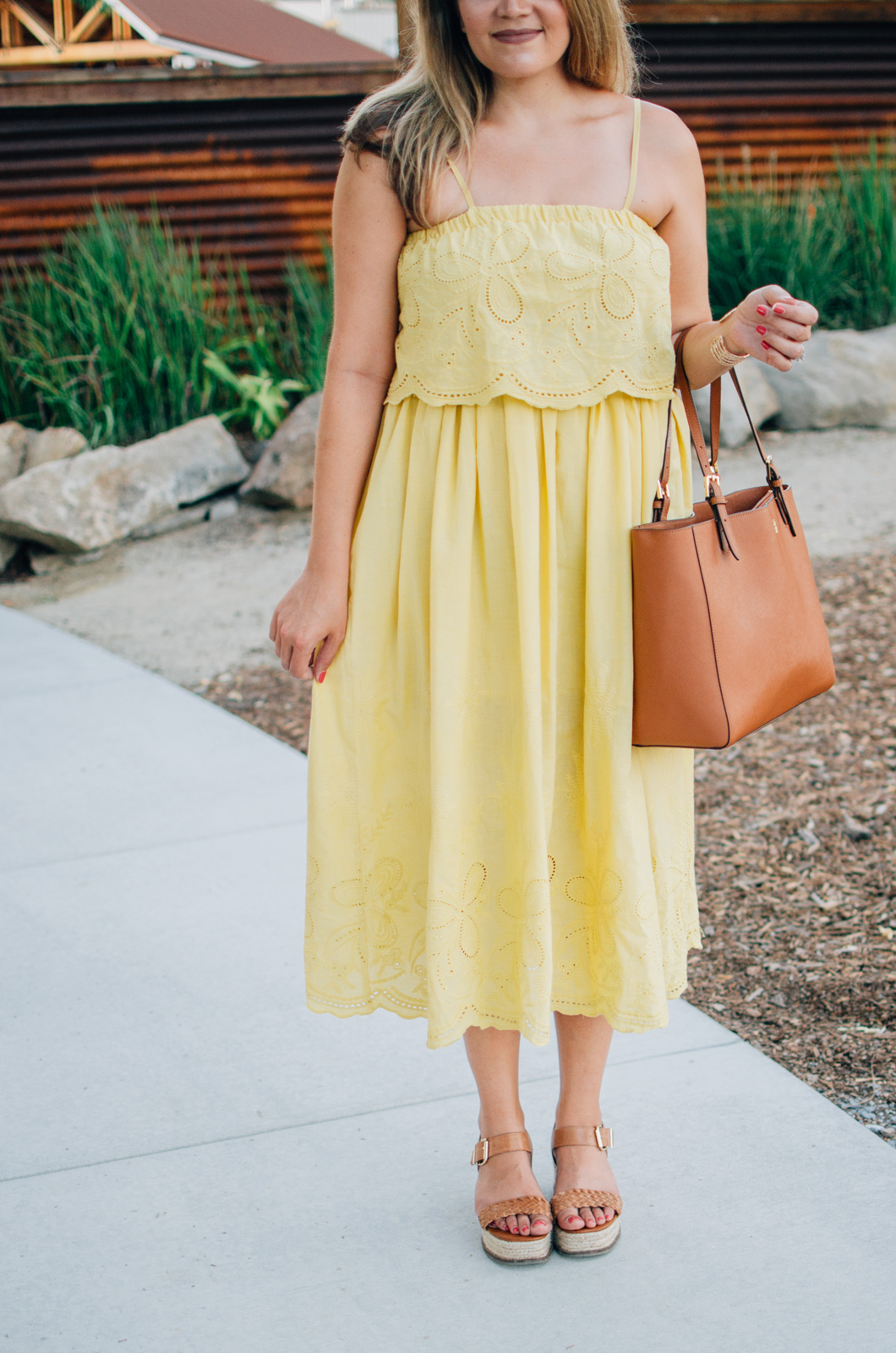 summer sundress outfit | More Summer outfit ideas at bylaurenm.com