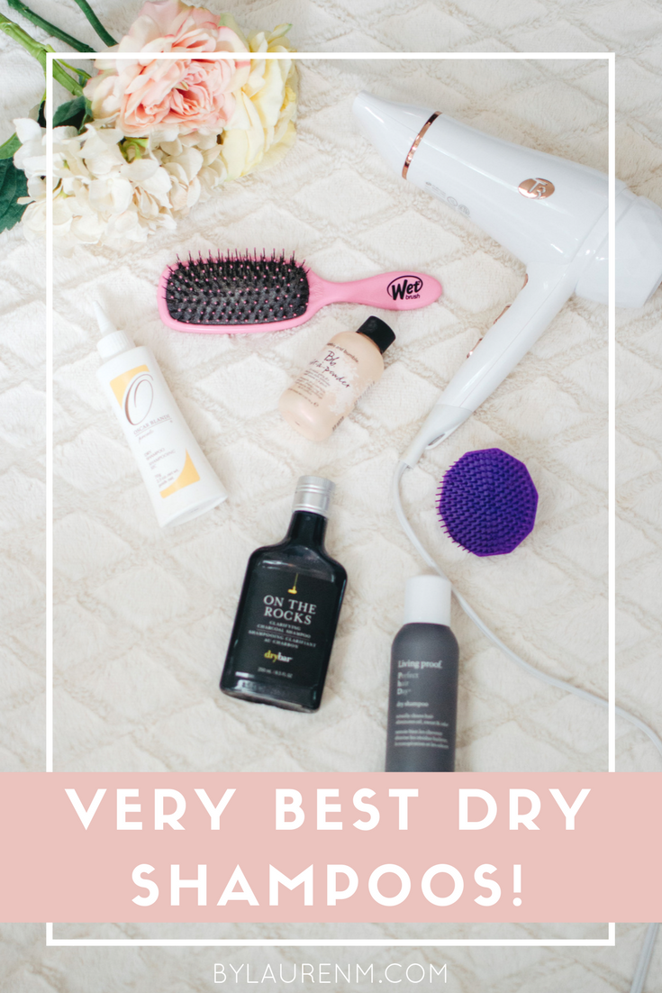 the best dry shampoos - need dry shampoo tips? Click through to learn how to use dry shampoo, when to apply it, and the best products! | bylaurenm.com