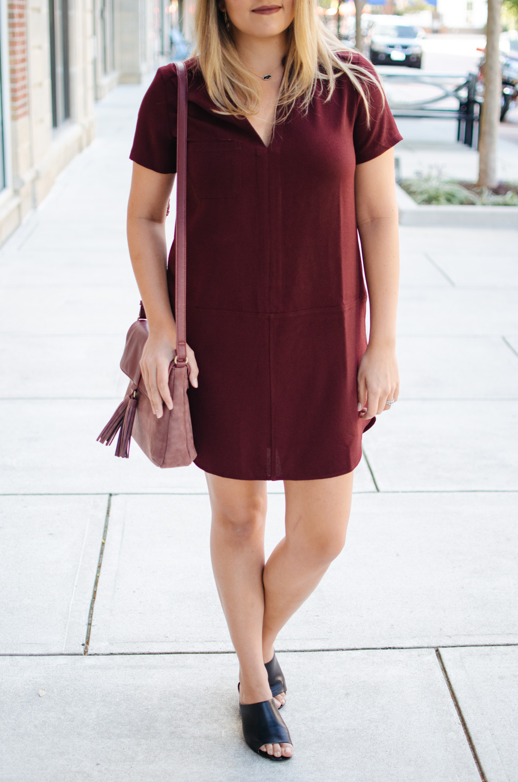 best fall outfit ideas - must-have fall dress | For more cute Fall transition outfits, click through to bylaurenm.com!