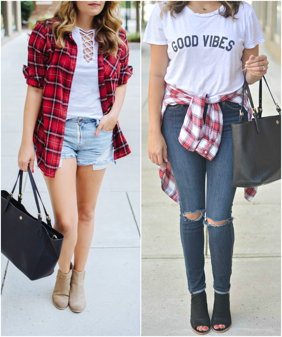 ways to wear plaid for Fall - top five must-have pieces for fall | See all pieces you need for Fall and how to wear them! bylaurenm.com
