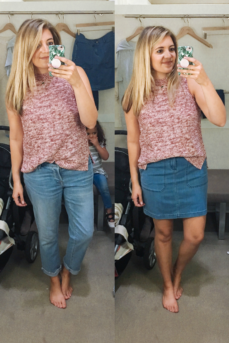 loft dressing room reviews - fall 2017 dressing room photos | See all 15+ Loft clothing items reviewed for fit and sizing at bylaurenm.com!