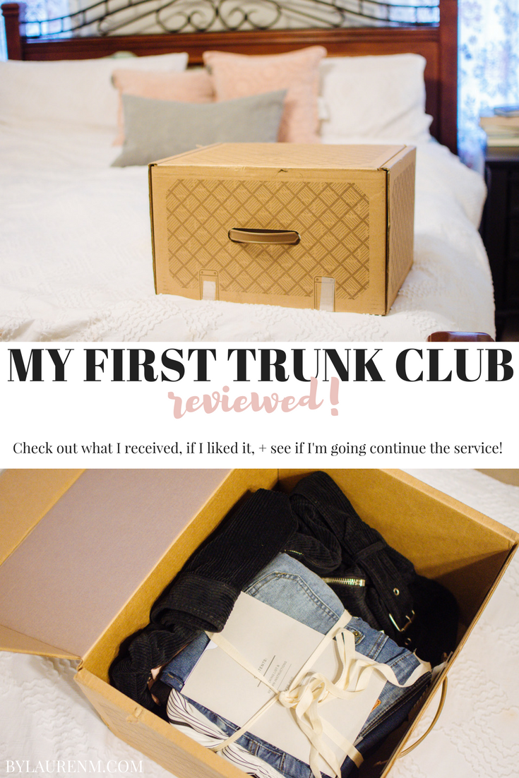 trunk club review - is trunk club worth it? Come see my thoughts after receiving my first trunk! bylaurenm.com
