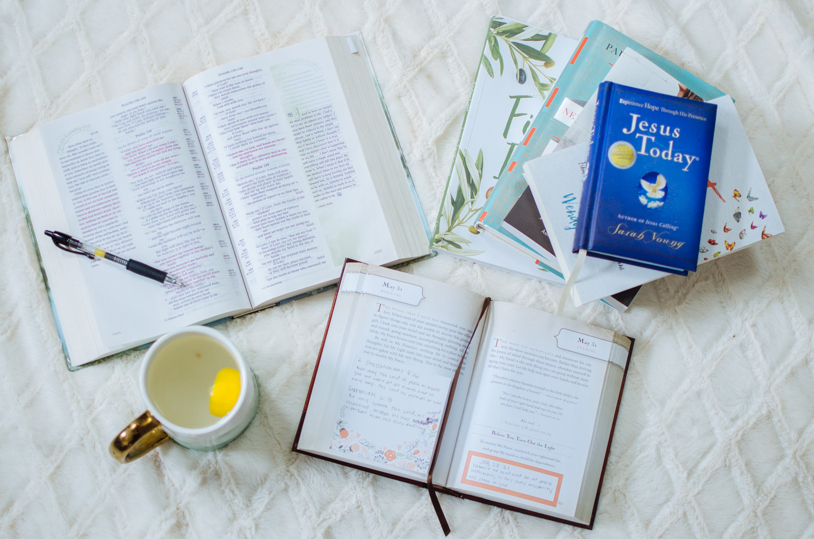 top five must read devotionals for women   Come see all the best encouraging daily devotionals. They are life-changing! bylaurenm.com