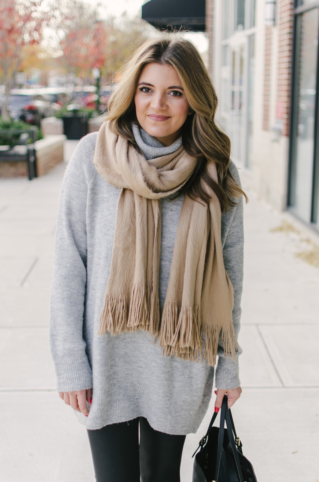 leggings outfit casual - winter leggings outfit | For more casual Winter outfits, click through to bylaurenm.com!