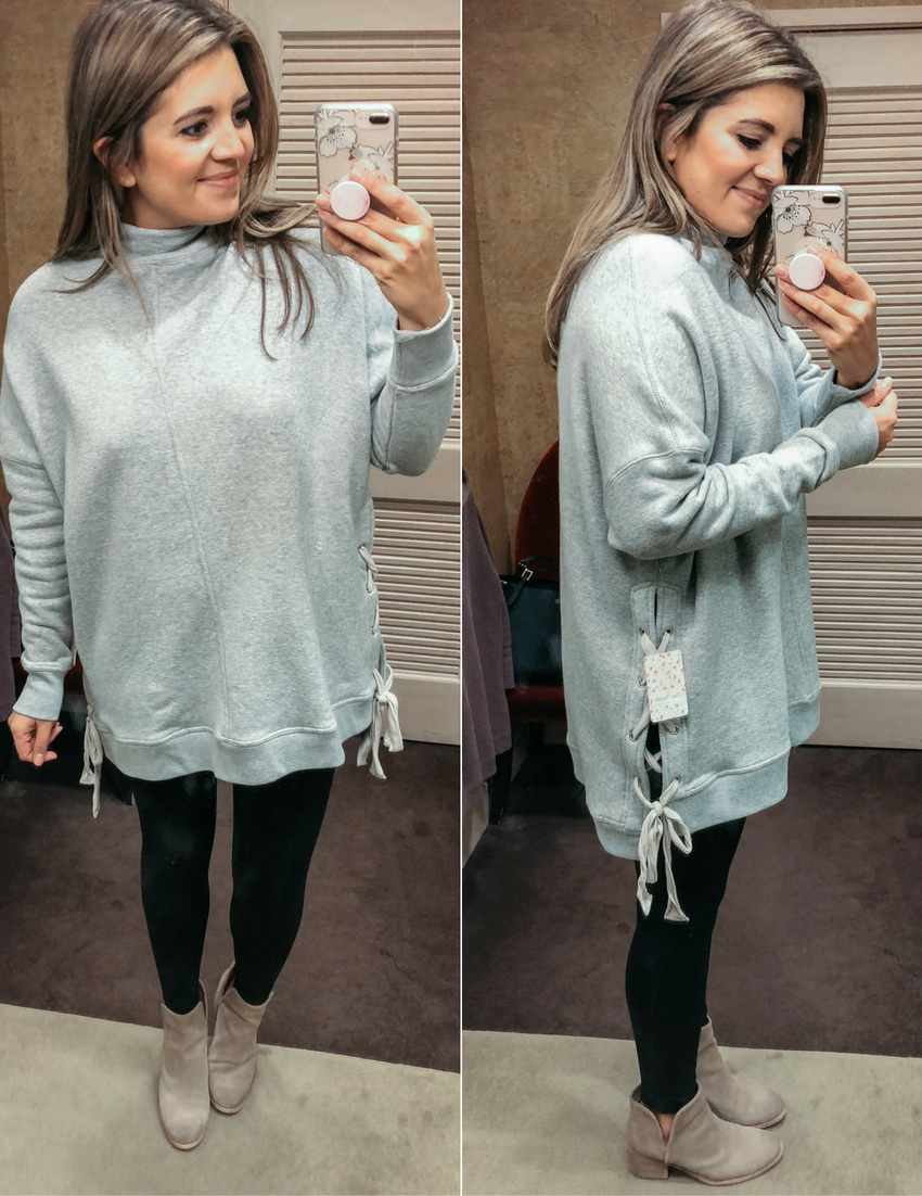 sweaters for leggings outfits - best sweaters for leggings | See reviews of 15 sweaters you can wear with leggings at bylaurenm.com!