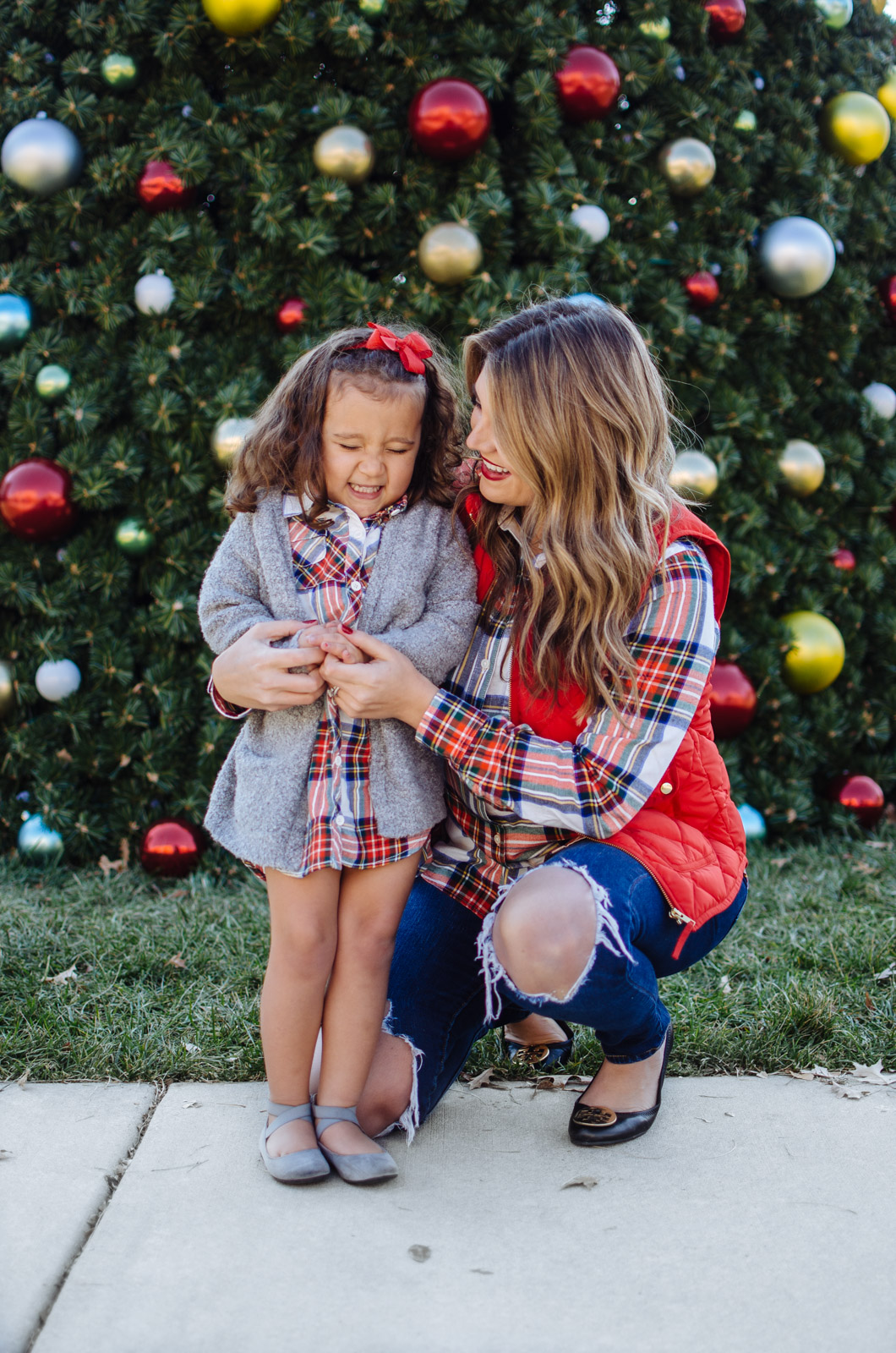 Mommy and Me Outfit for Christmas | By Lauren M