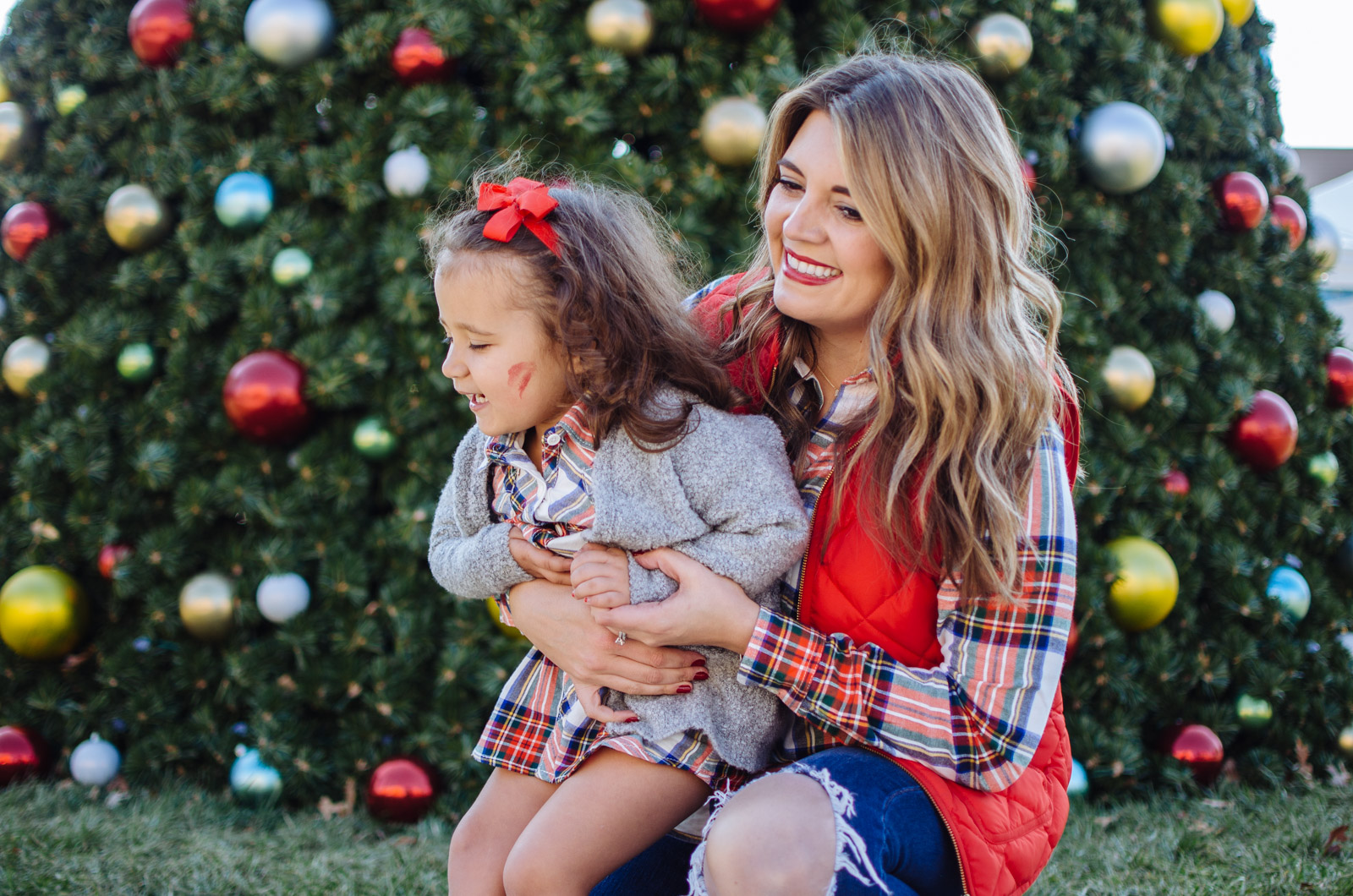 mommy me outfits christmas with matching christmas dresses for mom and daughter