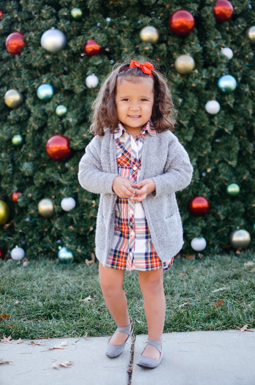 toddler outfit christmas - cute toddler outfit ideas winter | Get all the outfit details at bylaurenm.com!