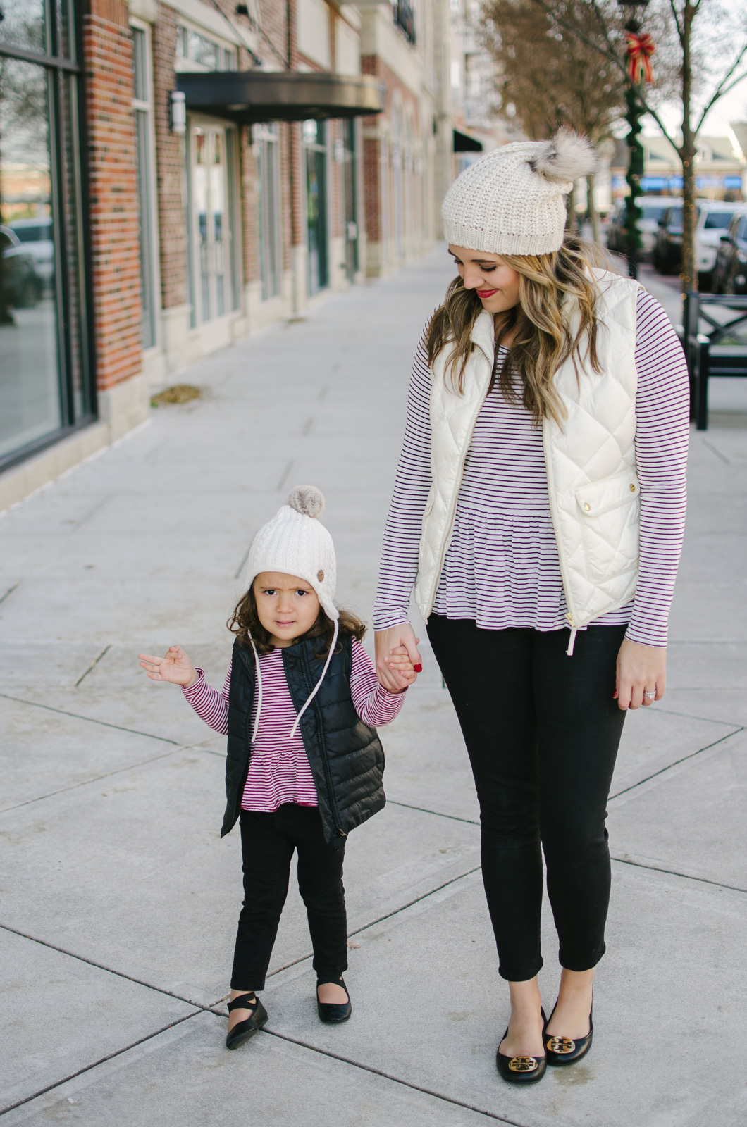 mommy and me outfits for winter | See more mommy and me matching outfits at bylaurenm.com!