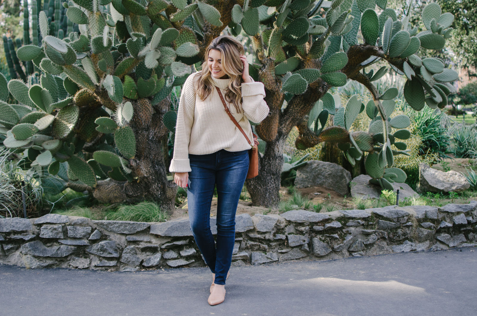 chunky sweater outfit - chunky turtleneck sweater outfit | shop this look or see more cute winter outfits at bylaurenm.com!