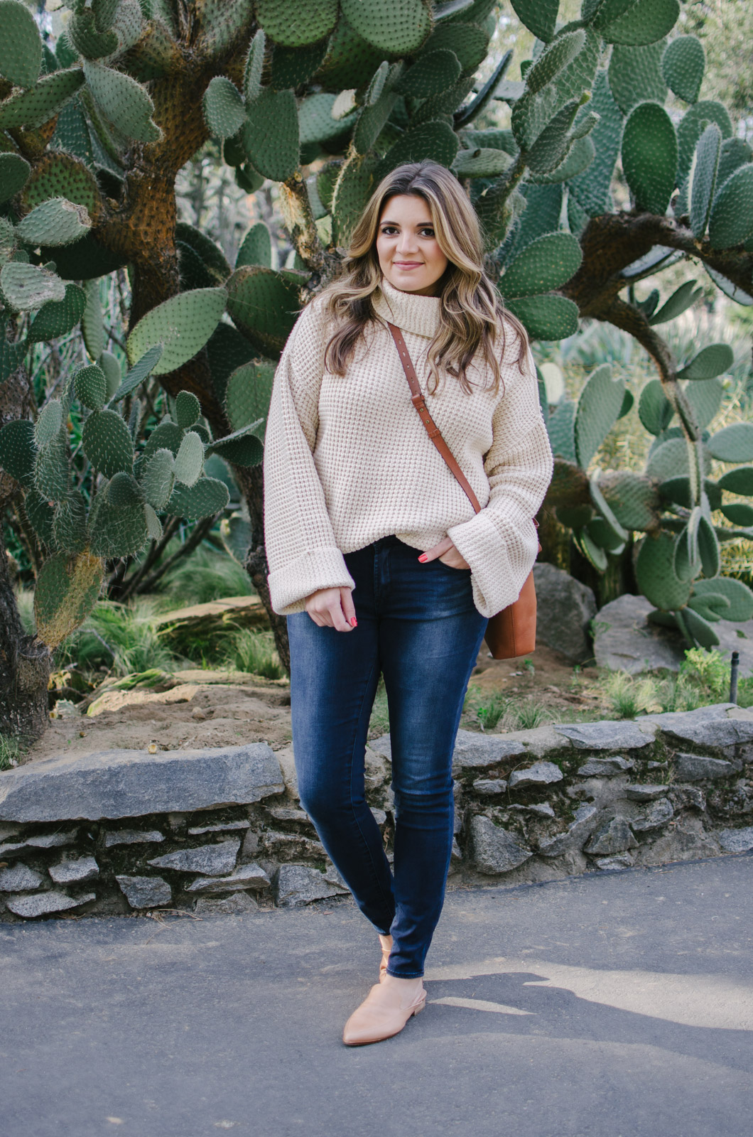 chunky turtleneck sweater outfit - chunky sweater outfit winter | See more Winter outfits at bylaurenm.com