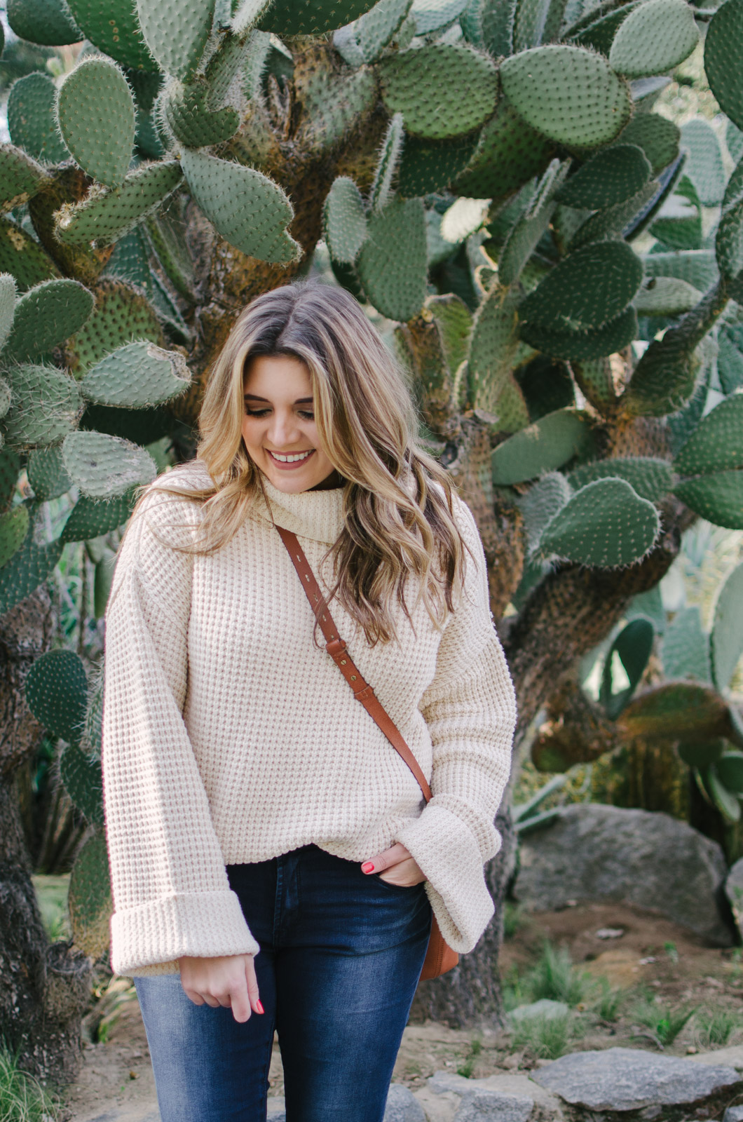chunky sweater outfit - how wear chunky sweater | shop this look or see more cute winter outfits at bylaurenm.com!