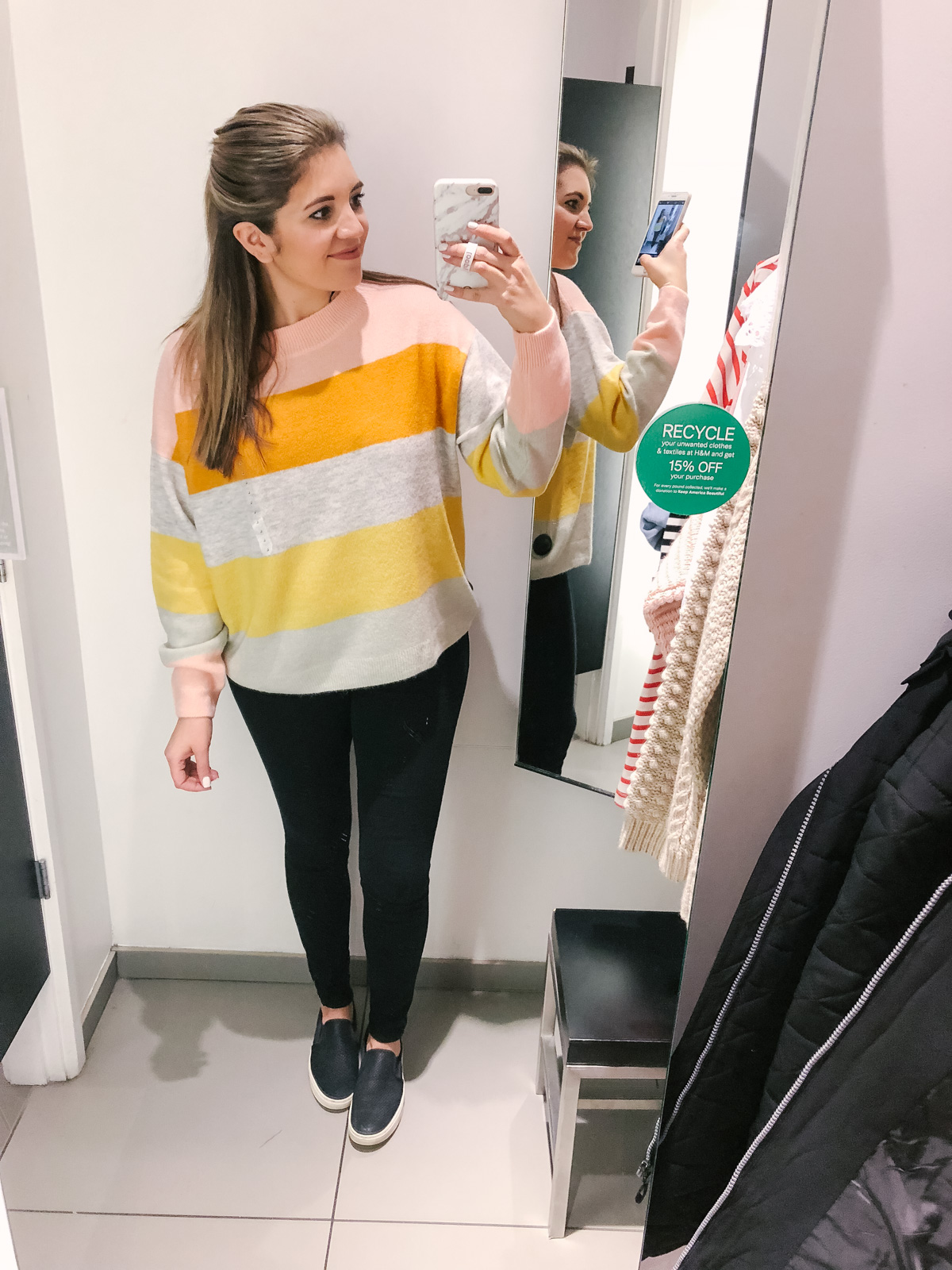 H&M dressing room reviews - spring 2018 H&M try-on | See the full clothing try-on session at bylaurenm.com!