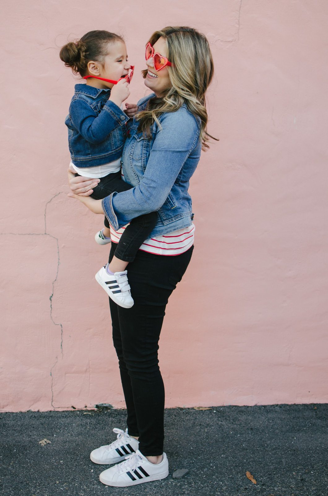 valentine's day mommy and me outfits | Shop these outfits or see more mommy and me outfits at bylaurenm.com!