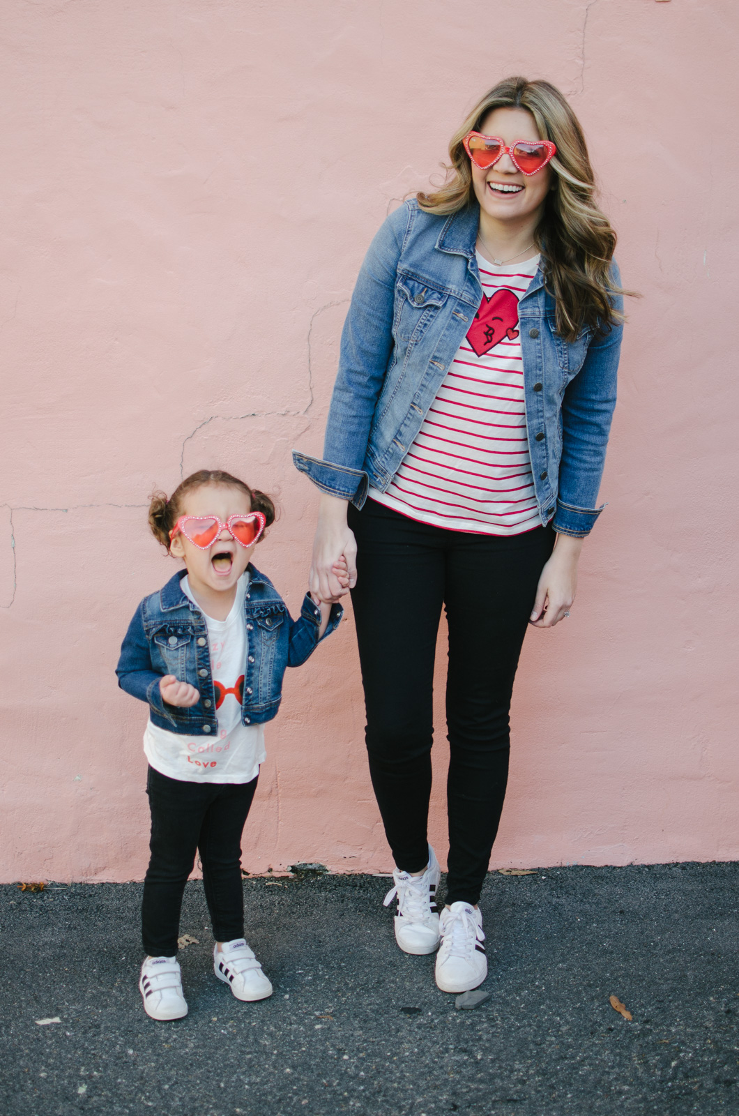 mommy and me outfits valentines day - mommy and me outfits matching spring | Shop our look and see more mommy and me outfits at bylaurenm.com!