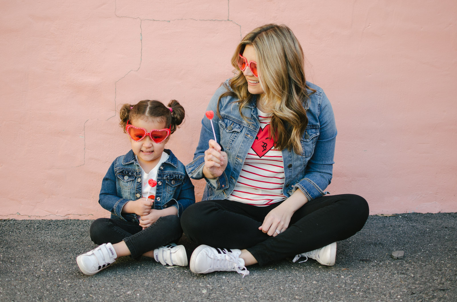 mommy and outfits for valentines day - valentines outfits | Shop these outfits or see more mommy and me outfits at bylaurenm.com!